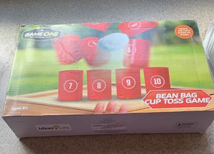 Bean bag cup toss game for Sale in Portland, OR