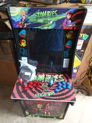 Modded 3/4 Zombies ate my Neighbors or Centipedearcade game for Sale in Fort Worth, TX