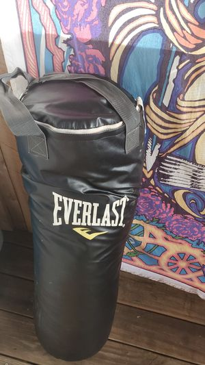 Everlast hanging punching bag for Sale in Murfreesboro, TN