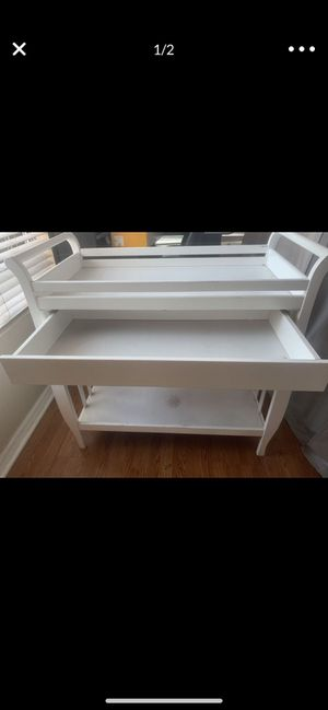 White baby changing table for Sale in Tustin, CA
