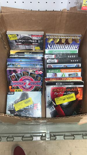 box of PC games for Sale in Indianapolis, IN