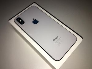 Unlocked iPhone X Silver 256GB for Sale in Providence, RI