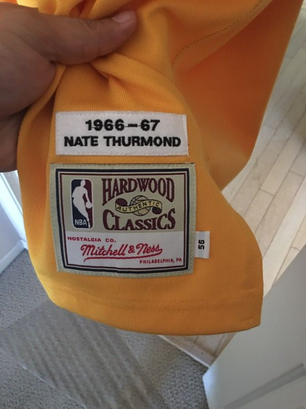 low priced 304f1 ea1c8 Golden State warriors Mitchell and Ness jersey. Nate Thurmond size 56.  Brand new with tags. $225 obo for Sale in Hayward, CA - OfferUp