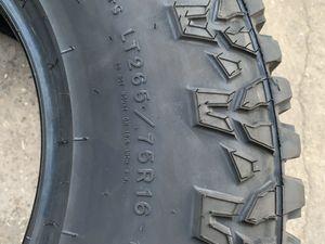 "New Goodyear All Terrain TireS LT265/75r16 Good Year Llantas Nuevas 265/75r16 Load Range E 10 ply 265 / 75 r16 or 265/75/16 New 16"" Tire 2657516 for Sale in Dallas, TX"