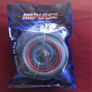Amplifier Wiring 4 gauge Kit for Sale in Santa Ana, CA