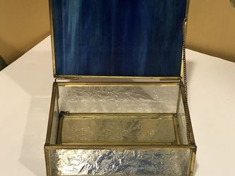 Vintage Stained Glass Trinket Jewelry Box for Sale in Moon Township,  PA