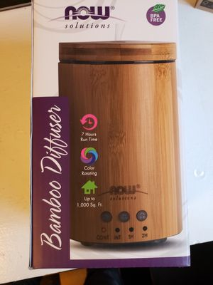 NOW Bamboo oil diffuser *brand new for Sale in Portland, OR
