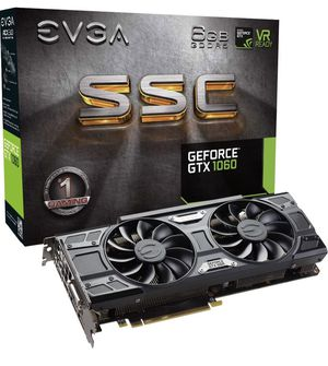 EVGA GeForce GTX 1060 6GB SSC GAMING ACX 3.0, 6GB GDDR5 for Sale in Madera, CA