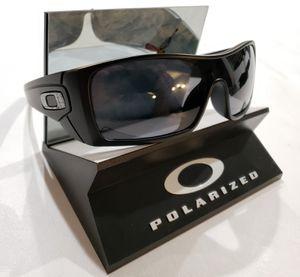 Oakley Batwolf Sunglasses Matte Black / Gray Polarized 9101-01 USA 127mm for Sale in Norwalk, CA