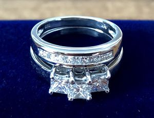 Engagement Ring and Wedding Band for Sale in Redlands, CA