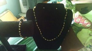 Handmade matching neckless and brasclet set for Sale in Cadillac, MI