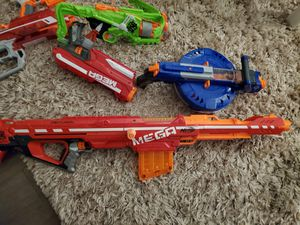 Nerf guns lot of 12 for Sale in Lacey, WA