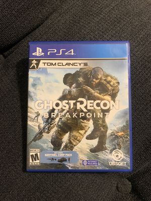 Tom Clancy's Ghost Recon Breakpoint (PS4 Game) for Sale in Gulfport, MS