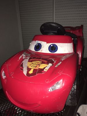 Lightning McQueen battery operated car for Sale in Margate, FL
