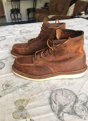 Red Wing leather boots for Sale in Claremont, CA