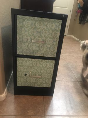 2 drawer filing cabinet for Sale in Laveen Village, AZ