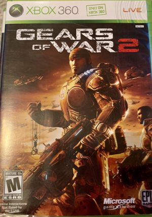 Gears of war 2 for Xbox 360 for Sale in Odessa, TX