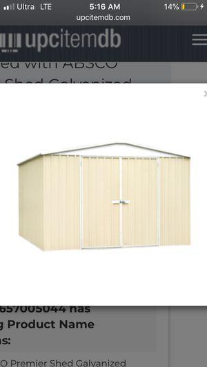 Absco regent 10'x12' storage shed for Sale in Anaheim, CA
