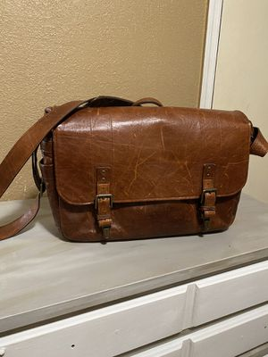 Stylish Italian Leather Messenger bag for Sale in Moreno Valley, CA