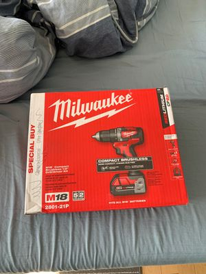 Milwaukee Compact brushless Drill Driver for Sale in Revere, MA