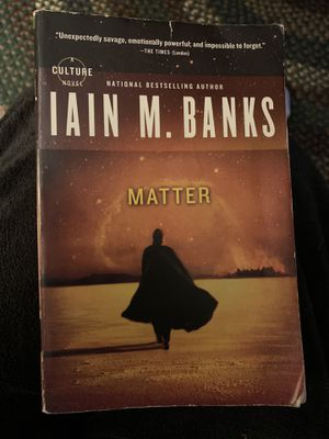 Matter by Iain M. Banks, Science fiction for Sale in Belleville, MI