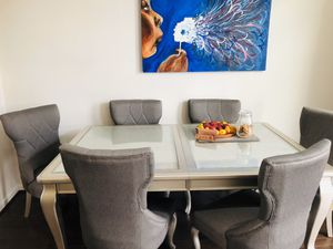 Ashley Coralayne Dining Table w/Removeable Leaf and 6 chairs for Sale in Washington, DC