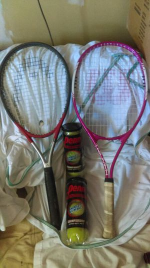 Ti.S2 & wilson tennis racket for Sale in Tolleson, AZ