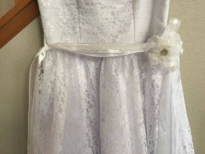 First Holy Communion Dress with Tiara and veil for Sale in Denver, CO