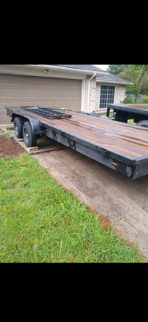 20ft heavy duty car hauler trailer 2500 firm for Sale in Humble, TX