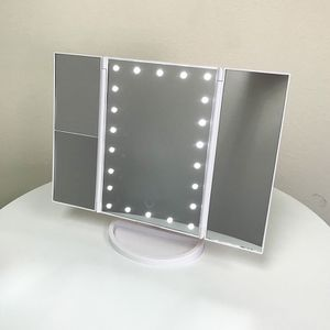 $20 (new in box) makeup vanity mirror with lights 1x 2x 3x magnification battery or usb adapter for Sale in Pico Rivera, CA