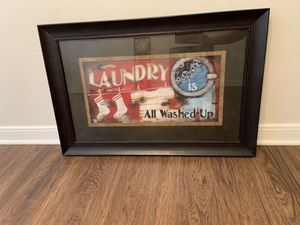 Laundry room sign decor for Sale in Magnolia, TX