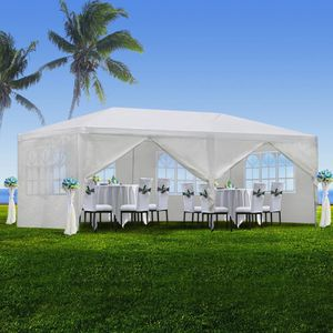 Outdoor Gazebo Canopy Wedding Party Tent with 6 Removable Window Walls (White, Outdoor) NEW T29 for Sale in Fredericksburg, VA