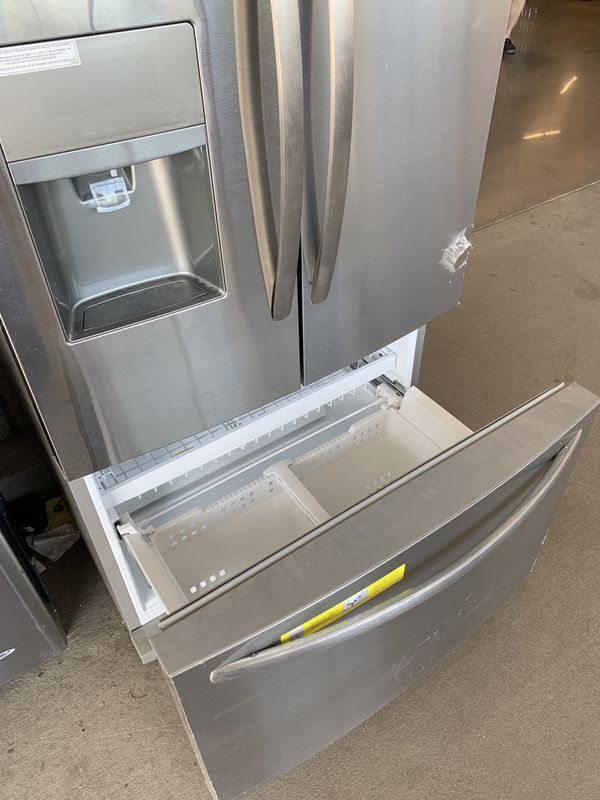Frigidaire 21.9 cu. ft French Door Refrigerator, Stainless Steel, Counter Depth