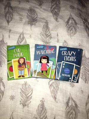 Set of 3 kids card games for Sale in Norwalk, CA