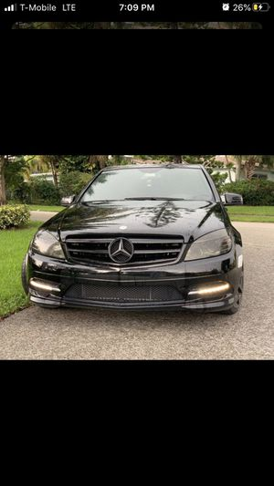 Mercedez Benz c300 Only Only Flaw Where Light is 14k mikes new tires looking for trades for a newer car for Sale in MA, US
