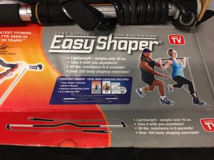 NEW Tony Little's EASY SHAPER. Tony Little's Easy Shaper Total Body Exerciser w/ 4 in 1 Workout DVD + Manuals for Sale in Oakland Park, FL