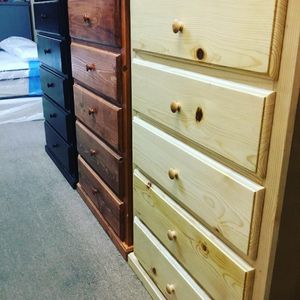 New PINEWOOD Dresser 5 DRAWER for Sale in Pasadena, CA