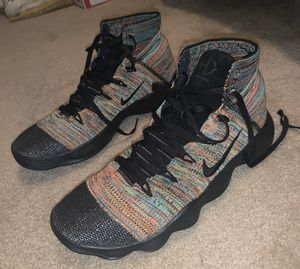 NIKE HYPERDUNK 2017 FLYKNIT BASKETBALL SHOES 917726-006 MULTI COLOR SIZE 11.5 for Sale in Richmond, VA