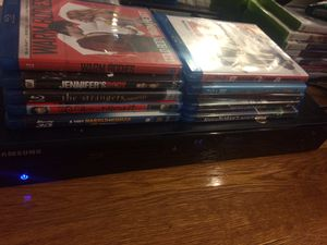 Blu-ray DVD player and Blu-ray movies for Sale in Franklin Township, NJ