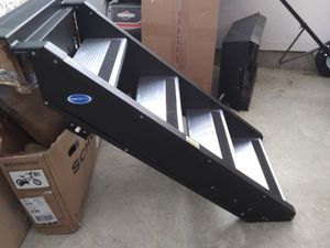 """New folding steps. 23.5"""" wide x 36"""" tall. 500lb. weight limit. for Sale in Walton, KY"""
