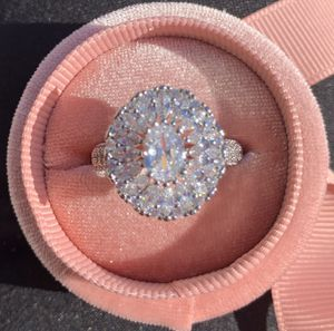 Luxury jewelry set size 6 engagement ring for Sale in Las Vegas, NV