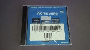 2005 Microsoft Works Suite for Sale in Perris, CA
