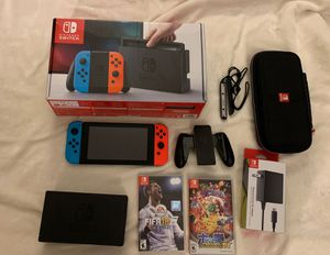 Nintendo Switch V2 Bundle for Sale in New York, NY