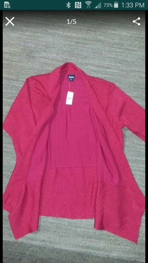 New with tags still attached women's size 3 XL beautiful red color great gift for someone $20 for Sale in Tucson, AZ
