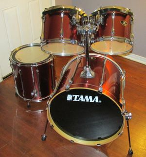TAMA Superstar Drums Drum Kit Set with cases for Sale in Fort Worth, TX