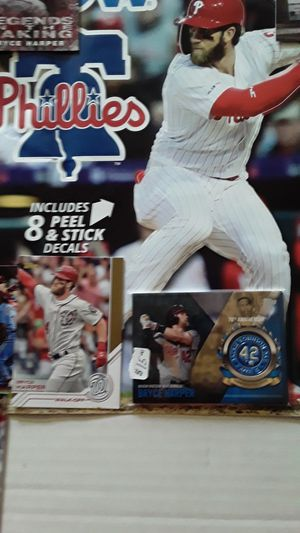 Phillies fat heads 2020 schedule. W ,HARPER ON IT. for Sale in Philadelphia, PA