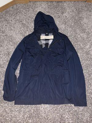 Burberry Brit men's M blue rain jacket for Sale in Portland, OR
