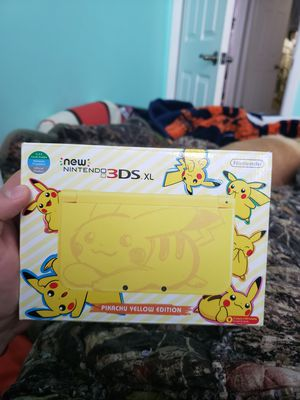Nintendo 3DS XL Pikachu Edition for Sale in Denver, CO