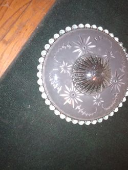 Antique Glass Light Cover for Sale in Gladys,  VA