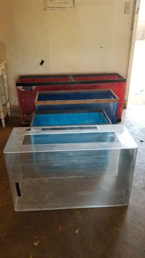 Multiple Fish Tanks 4 Sale for Sale in Oklahoma City, OK